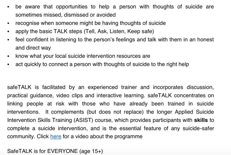 Safe Talk 2